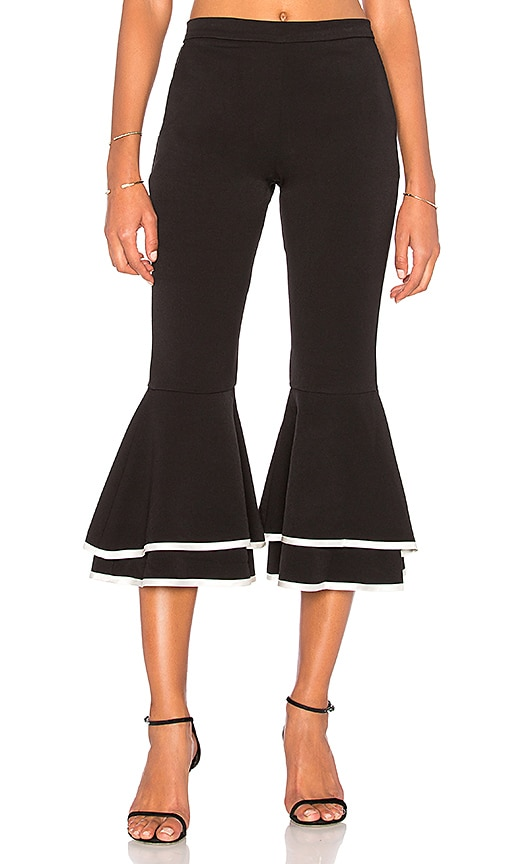Backstage x REVOLVE Trimmed Supafly Pant in Black