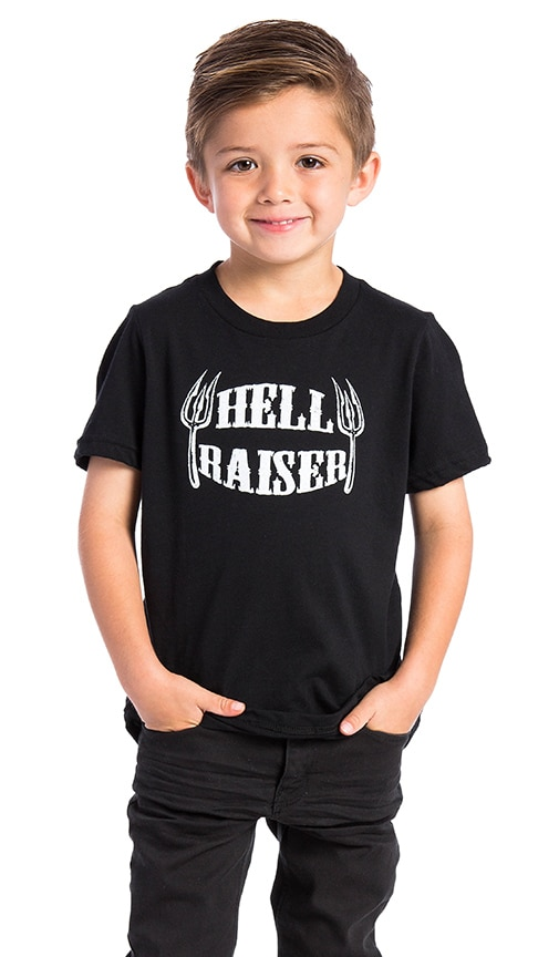 BANDIT BRAND Hell Raiser Kids Tee in Black & White