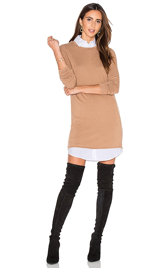 Bailey 44 Cher Sweater Dress in Tan