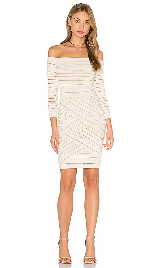 Bailey 44 D'Arcy Sweater Dress in Beige