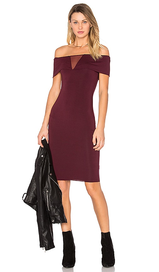 Bailey 44 Esther Dress in Burgundy