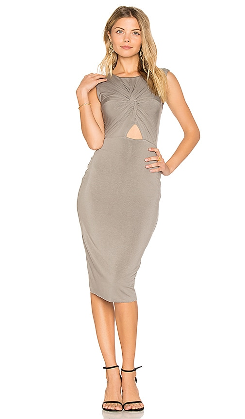 Bailey 44 Anti Doping Dress in Gray