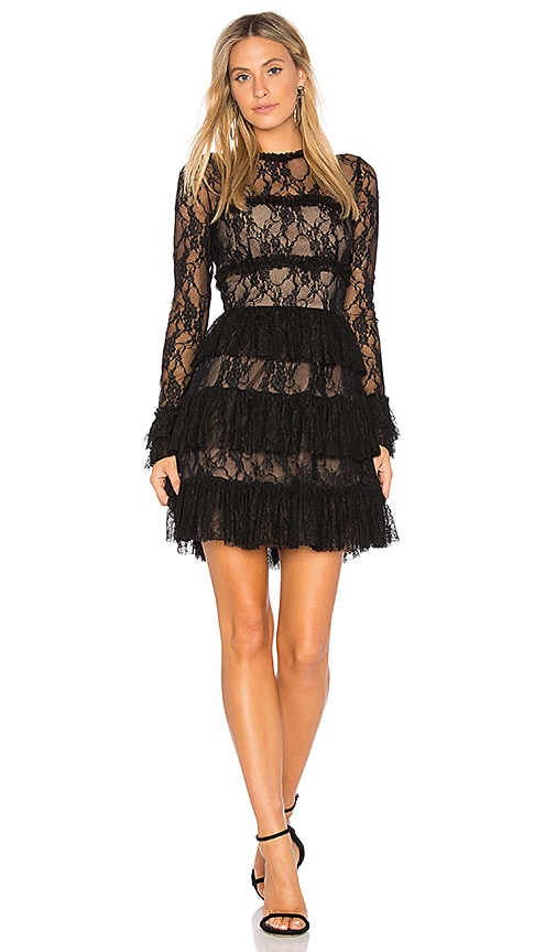 Bailey 44 Feeding Circle Lace Dress in Black