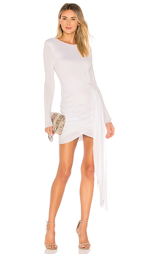 Bailey 44 x REVOLVE Long Sleeve Mini Dress in White