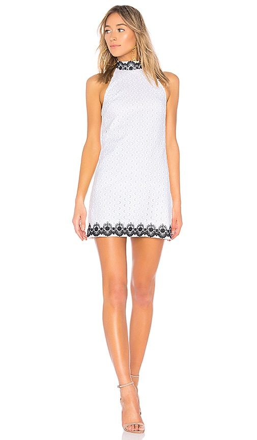 Bailey 44 Black Eyed Susan Dress in White