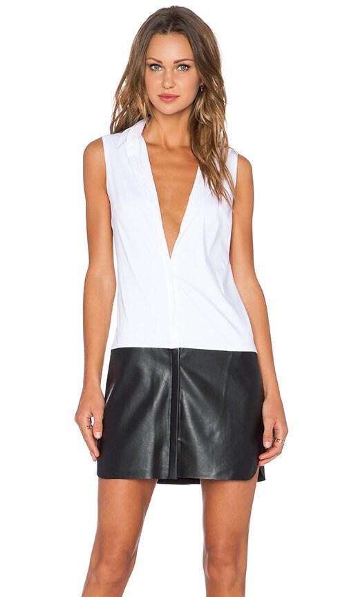 Bailey 44 Ferreri Dress in White & Black