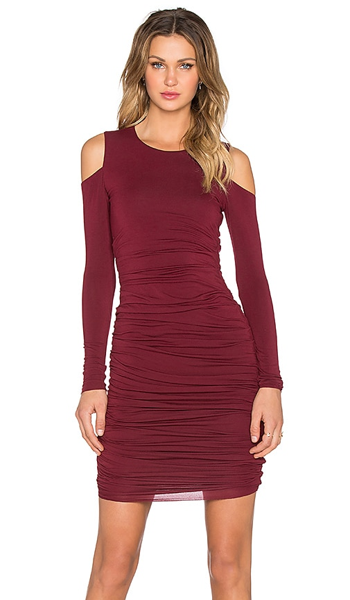 Bailey 44 Zaha Dress in Burgundy