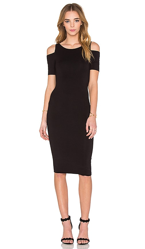 Bailey 44 Short Sleeve Deneuve Dress in Black