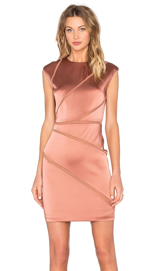 Bailey 44 Vordelik Dress in Metallic Copper