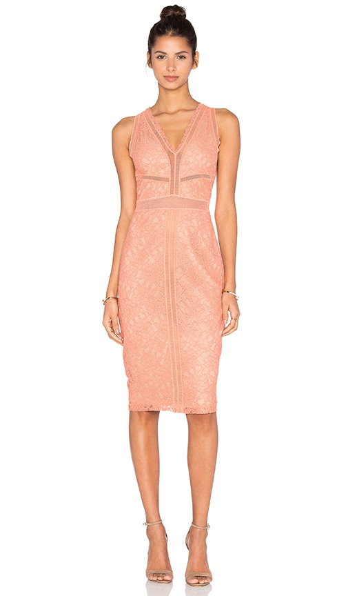 Bailey 44 Snapdragon Dress in Peach