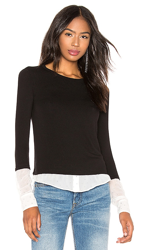 I'm So Excited Sweater Knit Blouse