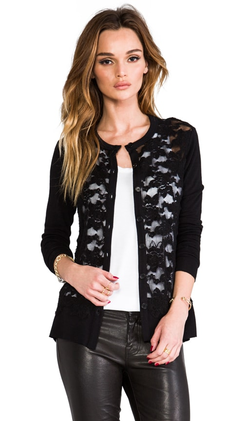 Fatal Chase Lace Cardigan