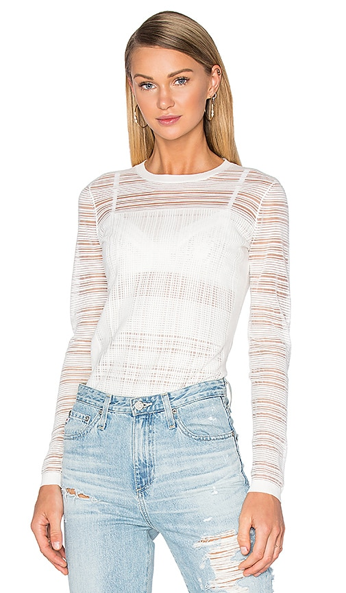 Bailey 44 Two Way Street Sweater in White