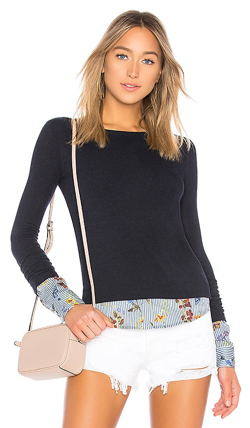 Bailey 44 Green Thumb Sweater in Navy