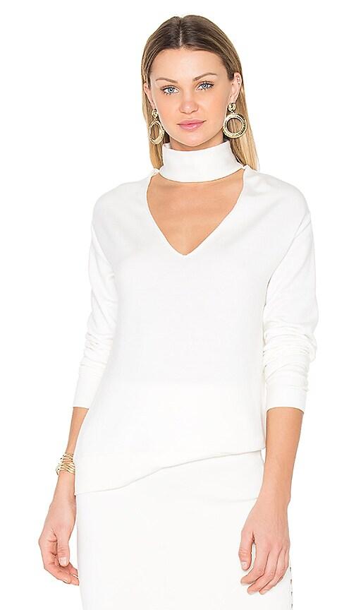 Bailey 44 Eye Splice Sweatshirt in White