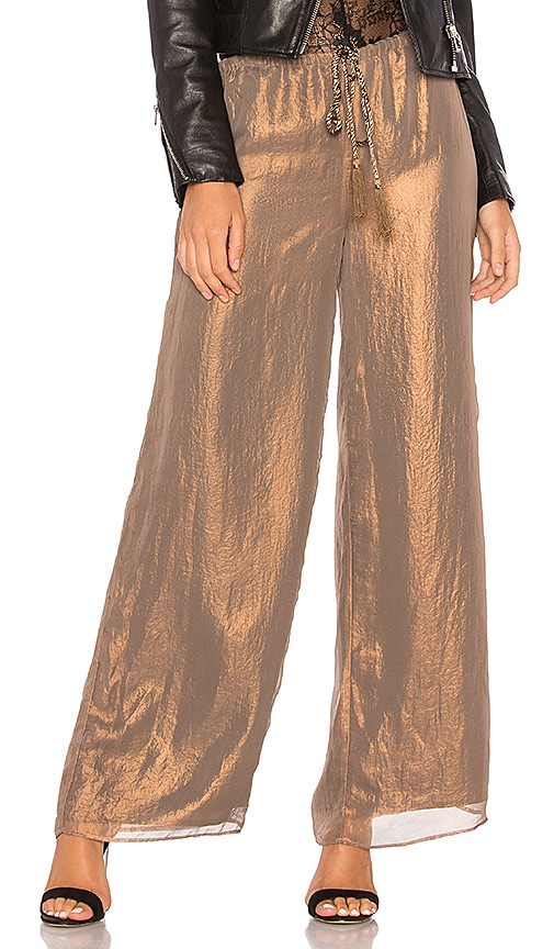Bailey 44 Plot Point Pant in Metallic Copper