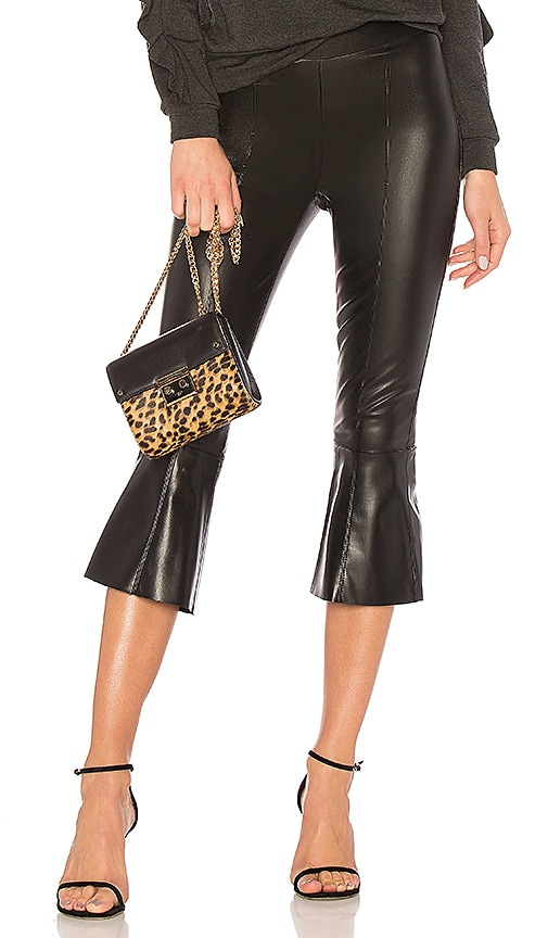 Bailey 44 Lupine Faux Leather Pant in Black