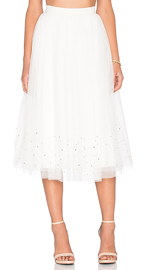 Bailey 44 Sunday Jumps Skirt in Cream
