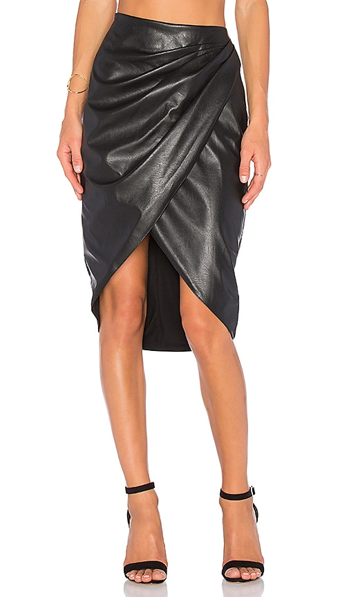 Bailey 44 Black Hole Skirt in Black