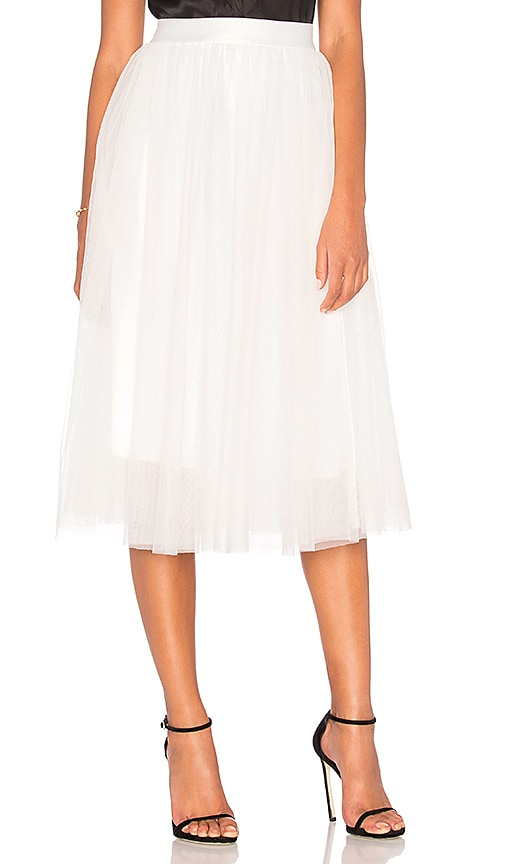 Bailey 44 Pas de Trois Skirt in White
