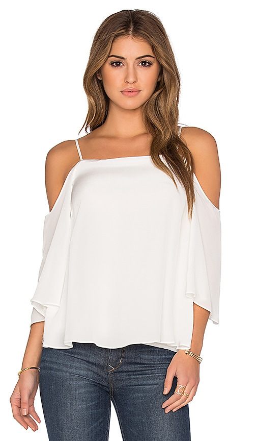 Bailey 44 Solid Tusk Top in White