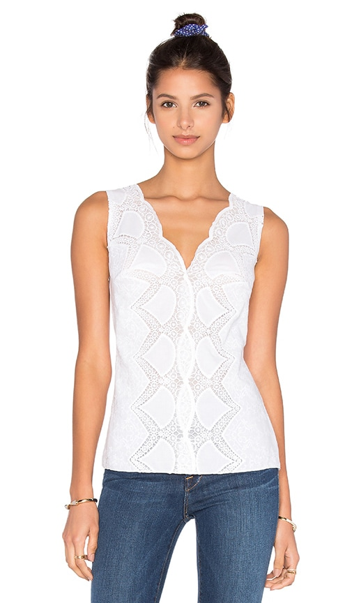Bailey 44 Sunnyoroft Top in White