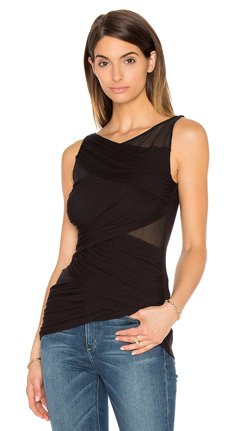 Bailey 44 Juxtaposition Tank in Black