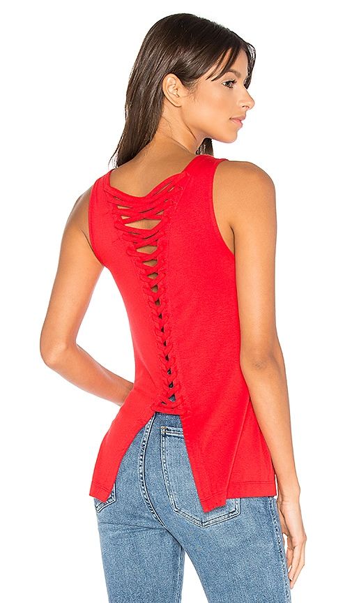 Bailey 44 Plantain Top in Red