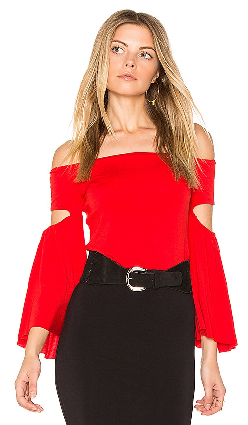Bailey 44 White Bay Top in Red