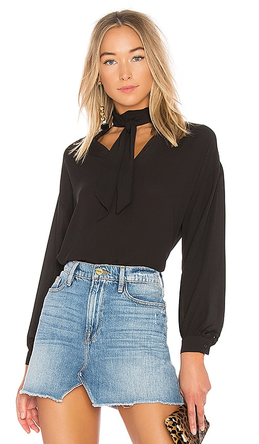 Bailey 44 Queen Sophia Top in Black
