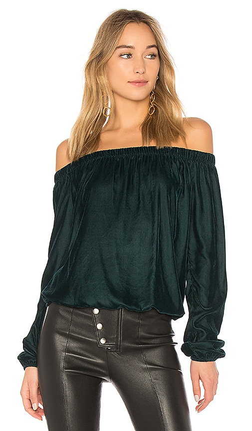 Bailey 44 Children of the Lilith One Shoulder Top in Green