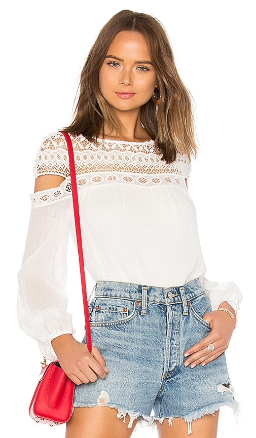 Bailey 44 Cotton To Top in White