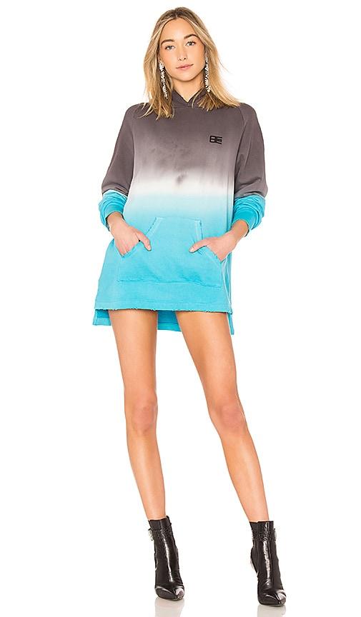 Baja East Pullover Hoodie in Blue