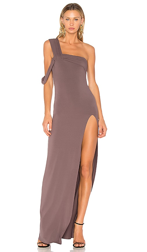 791da898618 One Shoulder Maxi Dress. One Shoulder Maxi Dress. Baja East