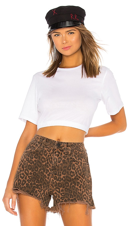 Thriving Baby Doll Crop Tee