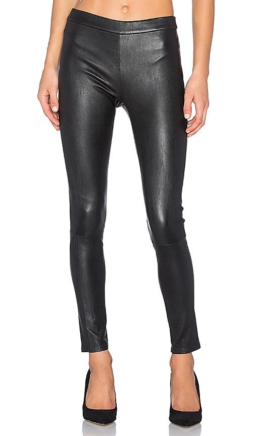 baldwin Hailey Leather Legging in Black