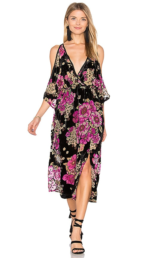 Band of Gypsies Maxi Dress in Pink