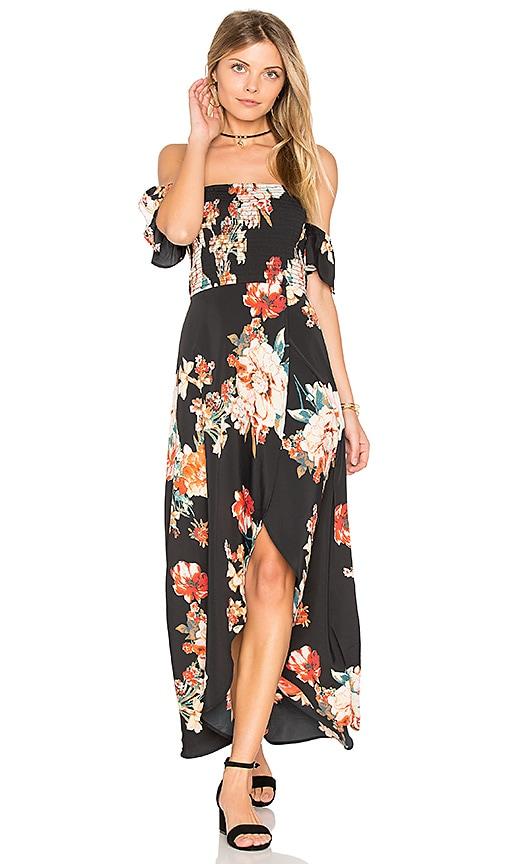 Large Floral Maxi Dress