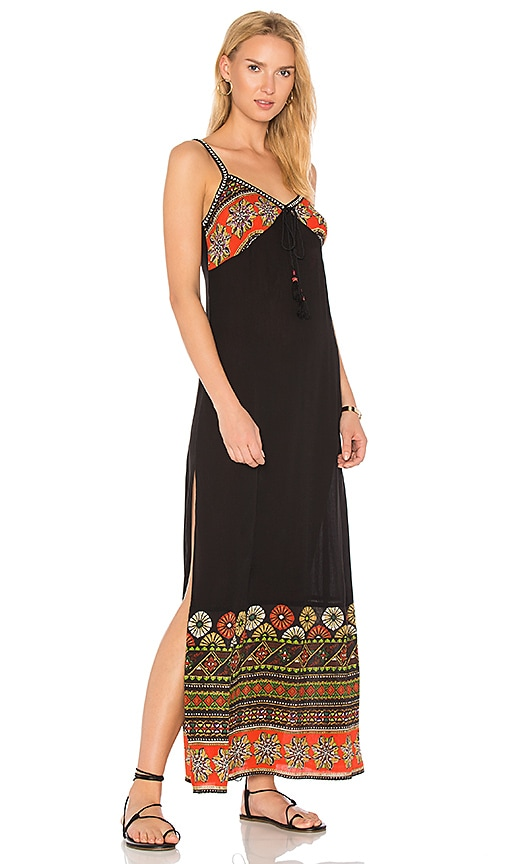 Band of Gypsies Cabo Maxi Dress in Black