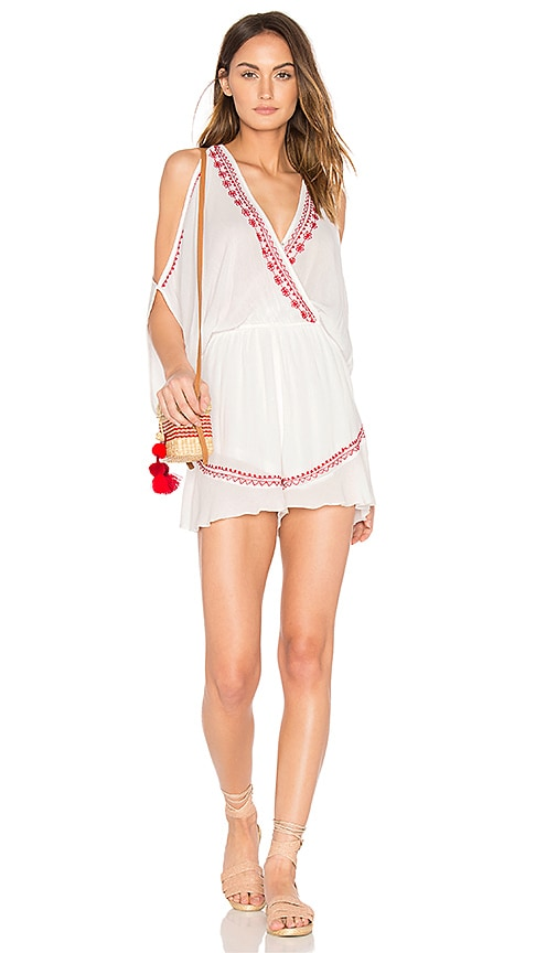Moroccan Embroidered Playsuit
