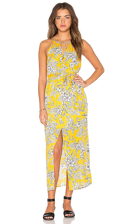 Bardot Marigold Maxi Dress in Yellow