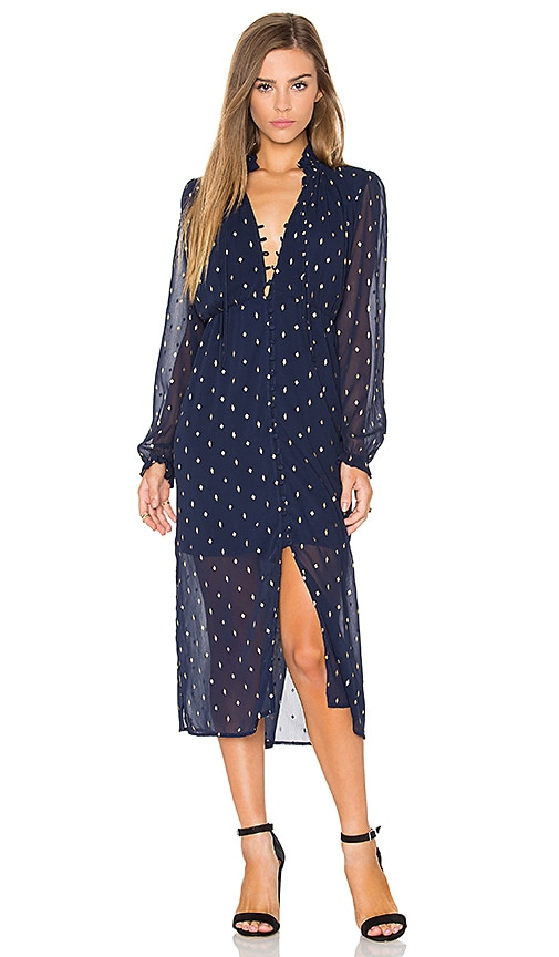 Bardot Celestial Maxi Dress in Navy