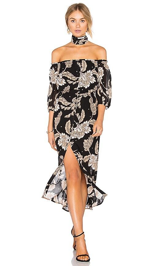 Bardot Jessa Paisley Dress in Black