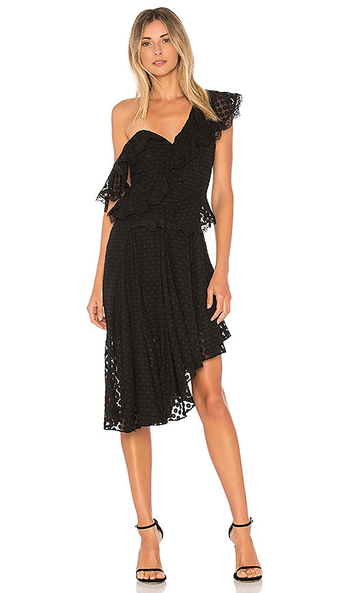Bardot Senorita Dress in Black