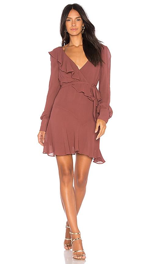 Bardot Rosie Dress in Mauve