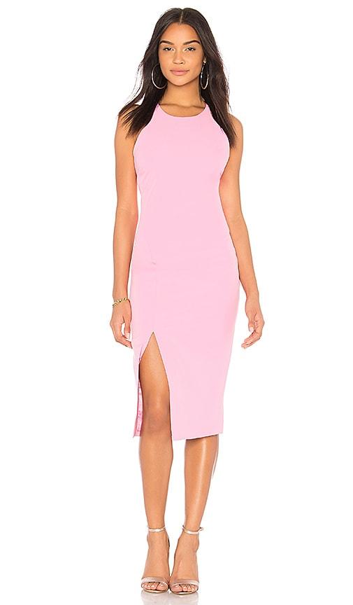 Bardot Low Back Dress in Pink