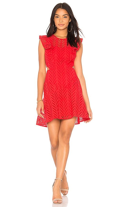 Bardot Kira Dress in Red