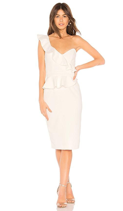 Bardot Camelia Dress in Ivory