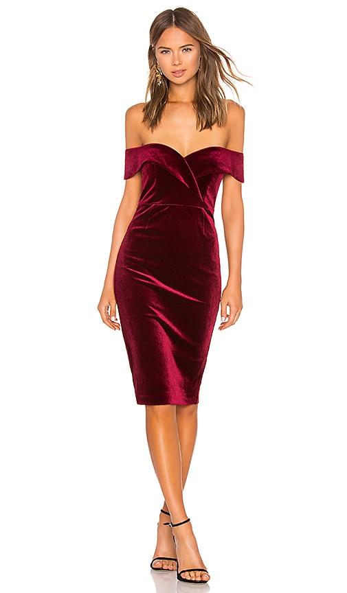 Bella Velvet Dress