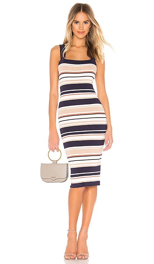 Multi Stripe Dress
